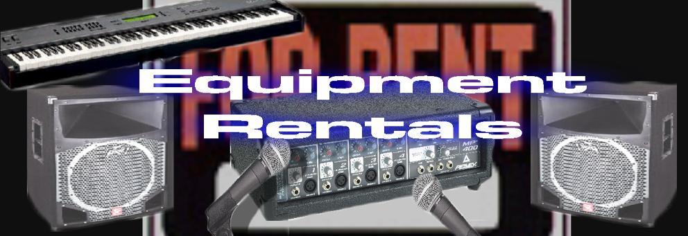 sound system and instrument RENTALS WEST PALM BEACH FL